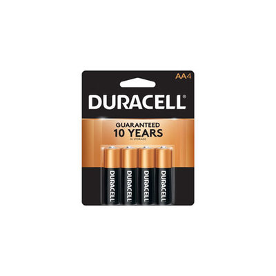 BATTERIES DUR AA 4PK