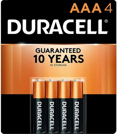 BATTERIES DUR AAA 4PK