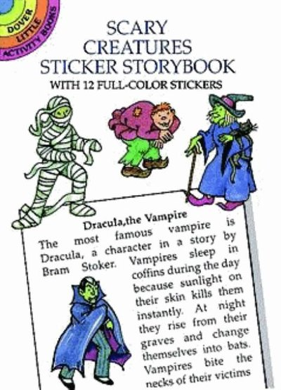 Scary Creatures Stickers