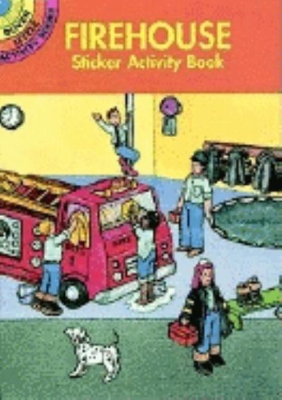 Firehouse Sticker Activity Book