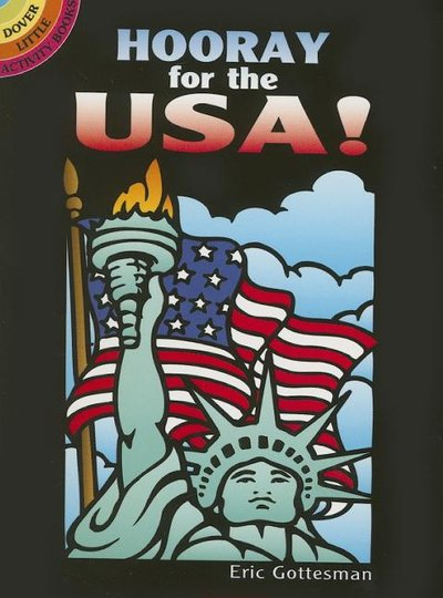 Hooray for the Usa! Stained Glass Coloring Book