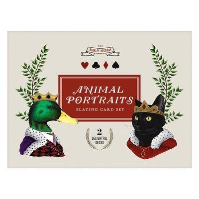 Berkley Bestiary Animal Portraits Playing Card Set