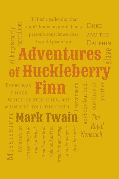 Adventures of Huckleberry Finn (Word Cloud Classics)