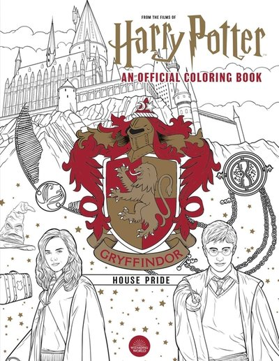 Harry Potter: Gryffindor House Pride: The Official Coloring Book