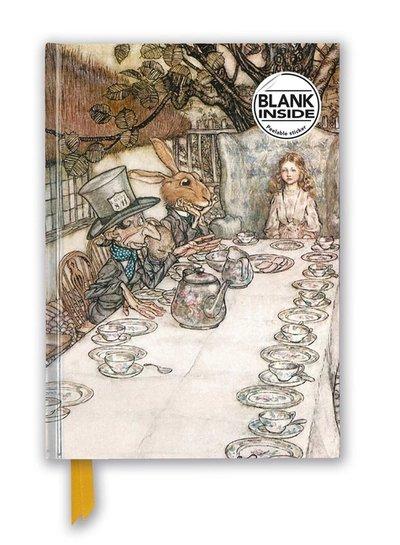 Arthur Rackham: Alice In Wonderland Tea Party (Foiled Blank Journal)