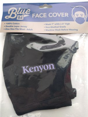 MASK BLACK KENYON TEXT