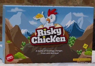 RISKY CHICKEN a Game of Strategy, Danger and Betrayal