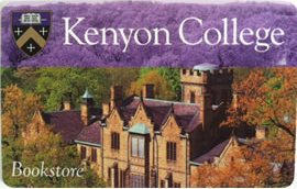Kenyon College Bookstore Gift Card